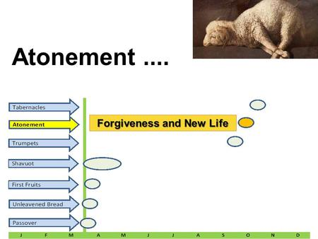Atonement.... Forgiveness and New Life. Feast # 6 Name: Atonement MEANING: t Leviticus 16: 29; Leviticus 23: 26 – 32 The first purpose is to present the.