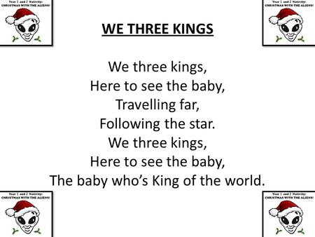The baby who's King of the world.