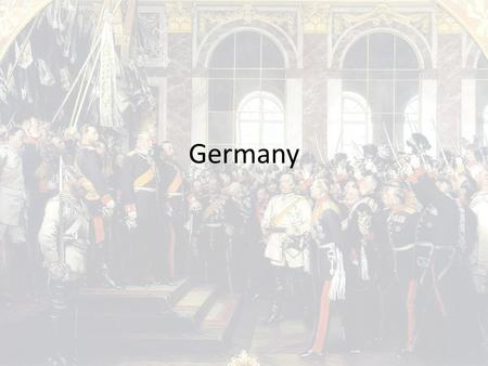 "Germany. Attempt at Unification After 1815, Prussia emerged as an alternative to a Habsburg-based Germany 1849 ""Grossdeutsch Plan"" – Unified Germany including."