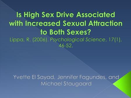 advertising sex psychology