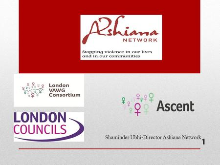 Shaminder Ubhi-Director Ashiana Network 1. Introduction to Ashiana Network Ashiana Network is a voluntary organisation which provides temporary accommodation.