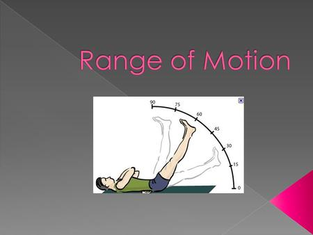  Flexion  Extension  Rotation  Lateral Flexion.