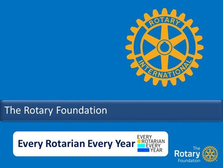 The Rotary Foundation Every Rotarian Every Year. Charities in Australia have a combined total income of nearly $100b annually.