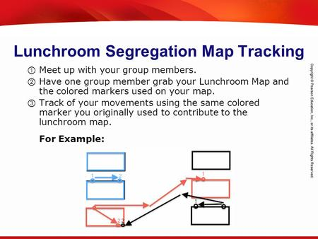 TEKS 8C: Calculate percent composition and empirical and molecular formulas. Lunchroom Segregation Map Tracking ① Meet up with your group members. ② Have.