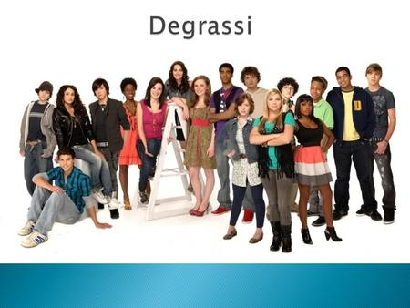 I chose Degrassi as my Teen Drama Series assignment because it is one of my favorite shows. Degrassi is about high school students who go through challenges.