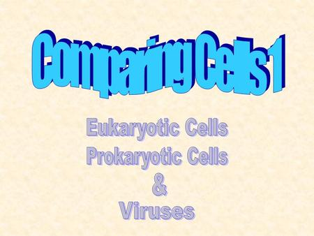 All Living Organisms are Composed of One or More Cells The Cell is the Basic Unit of All Living Things All Cells Come From Pre-existing Cells.