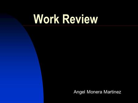 Work Review Angel Monera Martinez. Index Objectives Time Frame Analog Link  Analog Requirements  Miteq Characterization and tests Digital Link  Requirements.