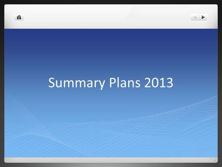 Summary Plans 2013. Content Module assembly at CERN and Dubna Readout DAQ Procurement Stacking Summary.