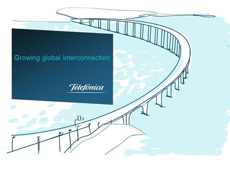 Growing global interconnection. TIWS All Telefonica's subsidiaries are single homed with TIWS as IP transit provider All of them are eyeball networks.