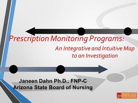 An Integrative and Intuitive Map to an Investigation Prescription Monitoring Programs: