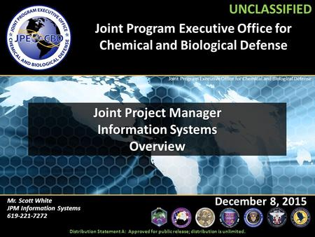 Joint Program Executive Office for Chemical and Biological Defense