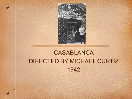 analysis of casablanca Extracts from this document introduction analysis of the ending scenes of 'casablanca' if it is identifying strongly with characters that makes movies great, then it is no mystery that 'casablanca' is one of the most popular films ever made.