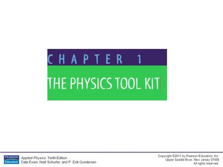 Applied Physics 10th Edition