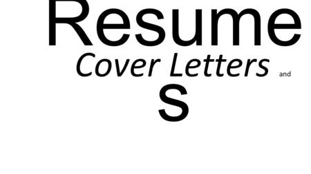 Resume s Cover Letters and. Resumes Check out the similarities of the next three resumes. Name and contact info Categories Thematic Elements Then, check.