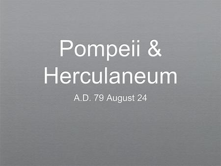Pompeii & Herculaneum A.D. 79 August 24. Peristylium, or outdoor garden, of a wealthy resident of Pompeii.