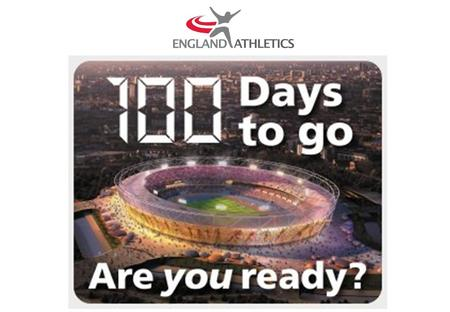  Try Athletics Days are part of the 'Are you ready?' campaign and will mark the 100 days to go milestone on 18 th April 2012  England Athletics are.