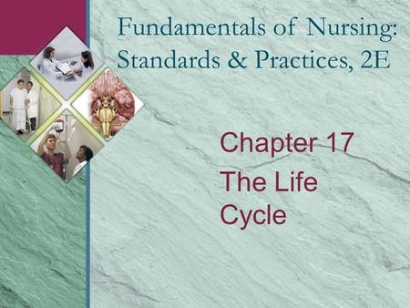 Chapter 17 The Life Cycle Fundamentals of Nursing: Standards & Practices, 2E.