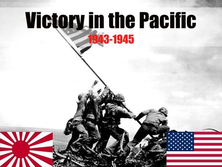 With Germany and Italy defeated, the focus switched to ending the war with Japan…