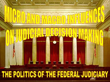 How would you characterize the Warren court? How would you characterize the Burger court?