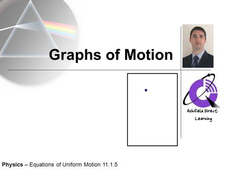 Graphs of Motion Physics – Equations of Uniform Motion 11.1.5.