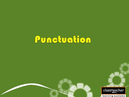 Punctuation Marks Punctuation marks are signs such as full stops, commas and question marks. They are used in sentences to make their meaning clear.