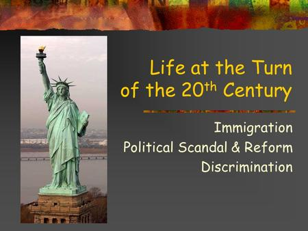 us immigration policies of the 20th century 20th-century immigration from the late nineteenth century through the end of world war ii, immigration policy in the united states underwent dramatic changes that helped to alter both the pace and the face of immigration.