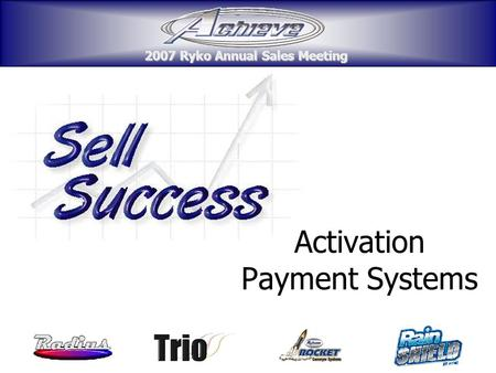 Activation Payment Systems