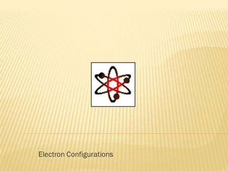 Electron Configurations.  Energy level of an electron analogous to the rungs of a ladder  The electron cannot exist between energy levels, just like.