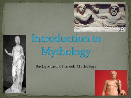 a study of greek mythology Ancient greece study guide-answers - free download as word doc (doc) or read online for free.