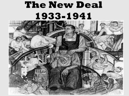 The New Deal 1933-1941. FDRs New Deal In A Nutshell Franklin Delano Roosevelt assumed the presidency at the darkest hour of the <strong>Great</strong> Depression, pledging.