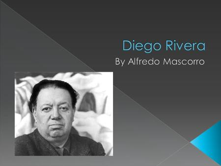  Diego Rivera has different major themes that he chooses. These include social inequalities such as the relationship of nature, industry, and the history.