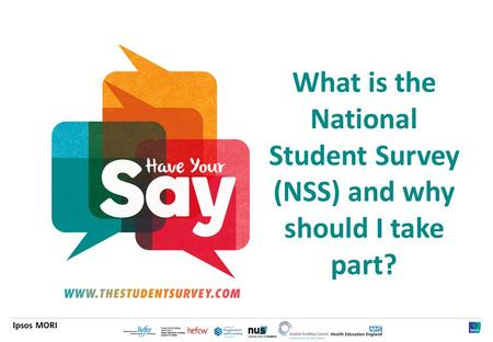 1 What is the National Student Survey (NSS) and why should I take part?