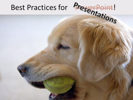 Welcome to voiceover within PowerPoint Best Practices for PowerPoint! Welcome!