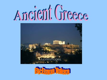 Mainland Greece is very mountainous land and is almost completely covered by the Mediterranean Sea. The weather in Ancient Greece consisted of mild.