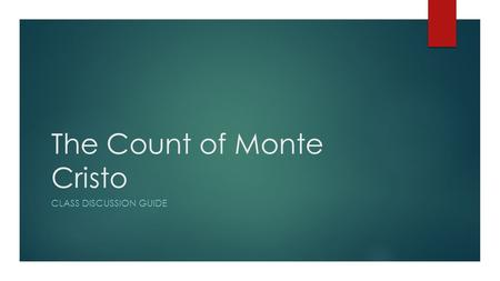 a good thesis statement for the count of monte cristo In this essay i will try to answer this question from the point of the story the count of monte cristo a good man as we can see, monte cristo took thesis.