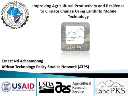 Ernest Nti Acheampong African Technology Policy Studies Network (ATPS)