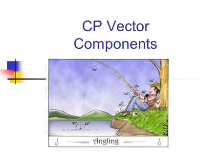 CP Vector Components Scalars and Vectors A quantity is something that you measure. Scalar quantities have only size, or amounts. Ex: mass, temperature,