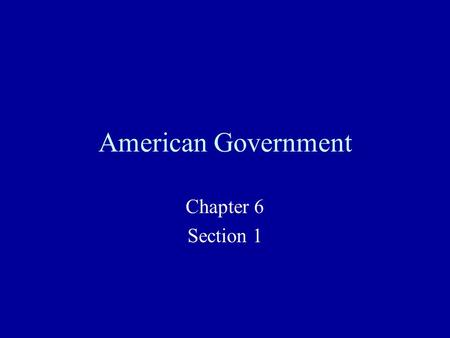 American Government Chapter 6 Section 1. Voting Rights Suffrage – the right to vote Franchise – the ability to vote Disenfranchise – Removing the ability.
