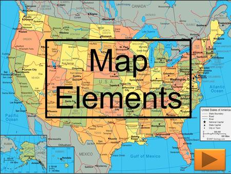 Map Elements Audience 5 th grade and/or 4 th grade students The 5 th graders would be students that need extra help with map elements. The 4 th grade.