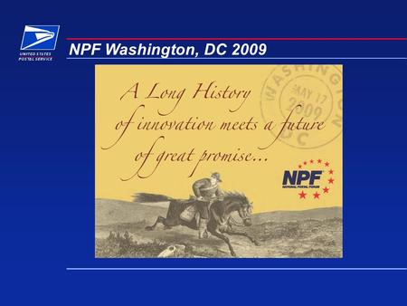 NPF Washington, DC 2009. Quality Education & Networking  140+ workshops – 119 new  16 Business Tracks – 6 new  15 Certificate Programs – 5 new  2.