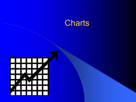 Charts. Charts Charts illustrate data Charts can be created from spreadsheets Three types of charts are: – Bar or Column – Line – Pie.