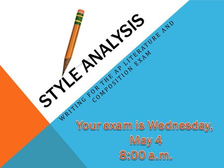 ap literature and composition essay types