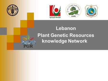 Lebanon Plant Genetic Resources knowledge Network.