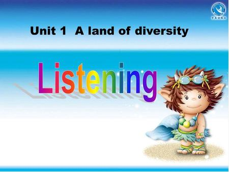 Unit 1 A land of diversity. Listen to the text. A HOLIDAY IN CALIFORNIA George (G) is on holiday in the United States. He is touring around California.