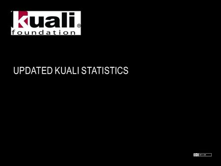 UPDATED KUALI STATISTICS. KUALI FOUNDATION MEMBERS – INSTITUTIONAL (60) Australian National University Boston College Boston University Brock University.