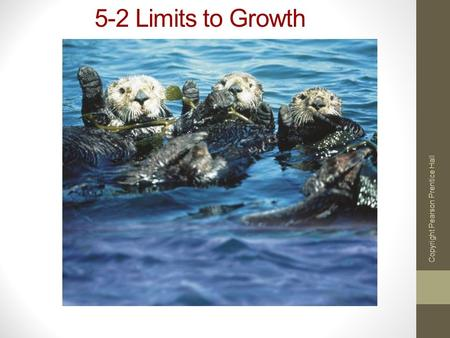 5-2 Limits to Growth Copyright Pearson Prentice Hall.
