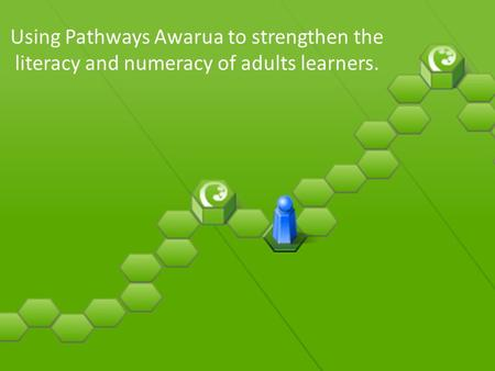 Using Pathways Awarua to strengthen the literacy and numeracy of adults learners.