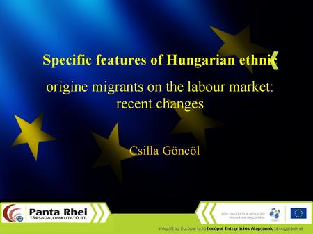 Csilla Göncöl. January, 2011. ethnic Hungarians can apply for simplified naturalization More than 100 000 persons applied Large (but unknown) number of.