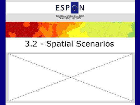 3.2 - Spatial Scenarios. Integrated Scenarios Demography - Baseline median age.