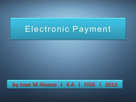 Electronic Payment. Amounts transferred through accounts Money transfer instructions Bank's computer system Other banks / Businesses.